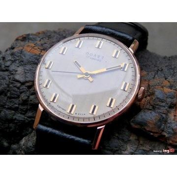 zegarek poljet złoty