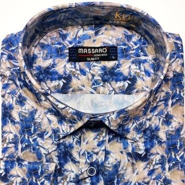 Koszula męska elegancka na codzień