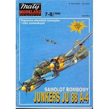 Mały Modelarz 7-8 2000 Junkers Ju-88 model 1:33 or