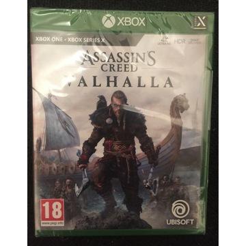 Assassin's Creed Valhalla Xbox one nowa w foli