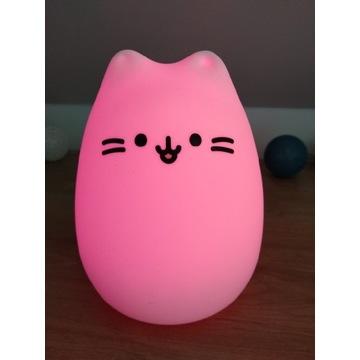Miękka lampka innoGio MIDI kotek KITTY jak nowa!