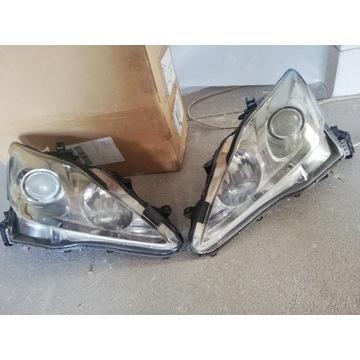 Reflektory skrętne ksenon Lexus is 220 250 350 isf