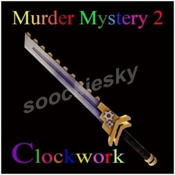 ROBLOX Murder Mystery 2 Clockwork