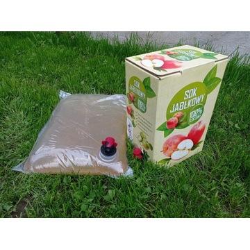 SOK JABŁKOWY/sok z jabłek 5L BIO eko TŁOCZONY