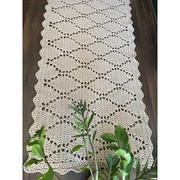 Chodnik Handmade 195x92 ze sznurka bawełnianego