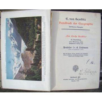 Danbuch der Geographie BRESLAU - 1908 rok - Śląsk