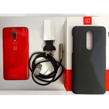 Oneplus 6 8RAM/128GB piękny kolor: Amber Red