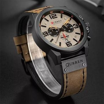 Piękny ekskluzywny,duży zegarek licytacja od 1zł!