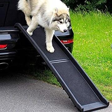 Dibea Dog Rampa Zejście z Bagażnika dla Psa E4