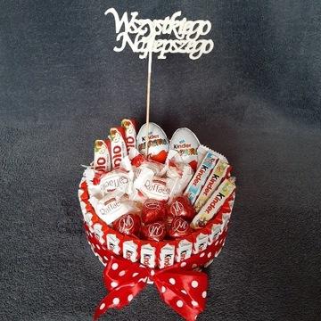 Tort ze słodyczy