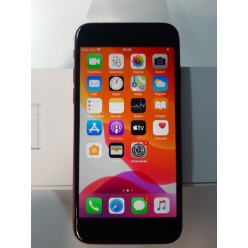 Smartfon Apple iPhone 2020 SE 64 GB czerwony
