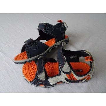 Sandały chłopięce KHOMBU , eu 35,wkładka 21,5 cm