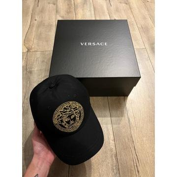 Czapka z daszkiem Versace czarna nowa oryginalna
