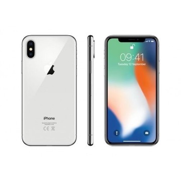 iPhone X silver 64