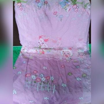 materiał firanka dziecięca dla dziewczynki
