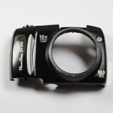 Canon SX120IS obudowa przód