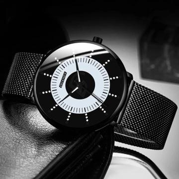 Stylowy, klasyczny męski zegarek-LICYTACJA od1zł