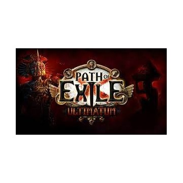 1x EXALTED ORB ULTIMATUM PATH OF EXILE POE
