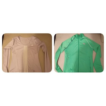 Bluza damska Puma + koszulka termiczna adidas !!