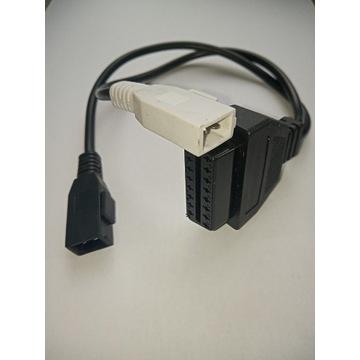 kabel obd 2 x 2 piny do VAG VW SKODA AUDI SEAT