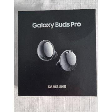 Samsung Galaxy Buds Pro czarne nowe 24gw