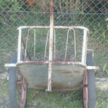 Wózek transportowy ogrodowy