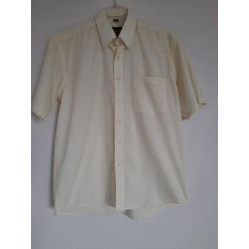 DH&AA koszula męska 40' 176-182 L pastelowa żółta