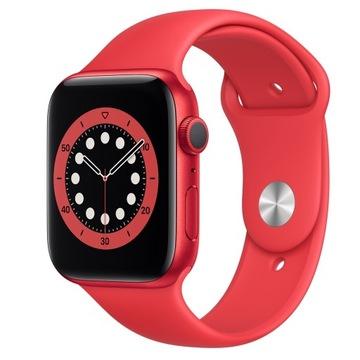 Apple Watch 6 RED GPS 44mm Nowy