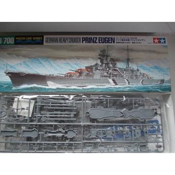1/700 Krążownik ciężki Prinz Eugen Tamiya