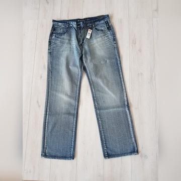 Nowe Spodnie jeansowe Ecko 3D Rhino rozmiar 36
