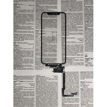 iPhone X Szybka + Dotyk + OCA
