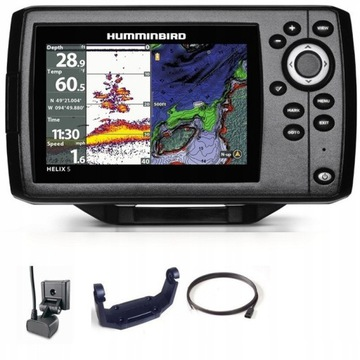 ECHOSONDA SONAR HUMMINBIRD HELIX 5 CHIRP GPS G2