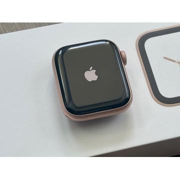 Apple Watch S4 GPS 40 mm, pełen zestaw + dodatki