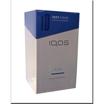 IQOS 3 DUO BLUE - NOWY, ORYGINALNY!
