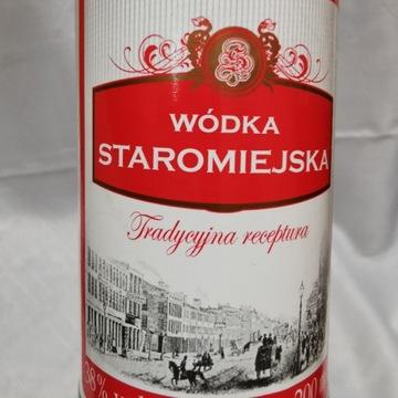 Butelka po Wódce Staromiejskiej 2013 r.