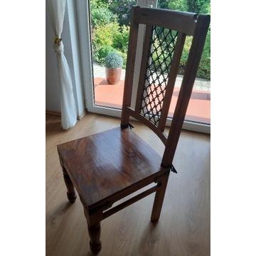 Krzesło biurowe jadalnia kolonialne indyjskie