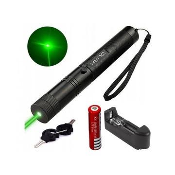 LASER Zielony Wskaznik Laserowy- BARDZO MOCNY L303