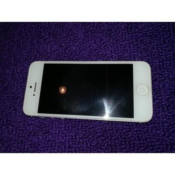 Iphone 5, 64 GB biało-srebrny