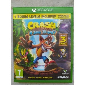 CRASH BANDICOOT N SANE TRILOGY 3 GRY XBOX ONE XONE
