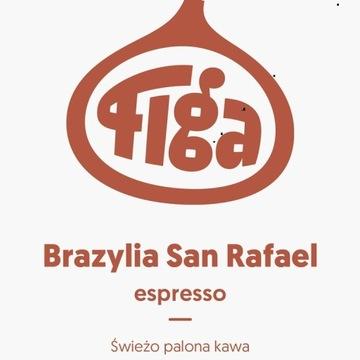 Kawa ziarnista Brazylia espresso świeżo palona 1kg