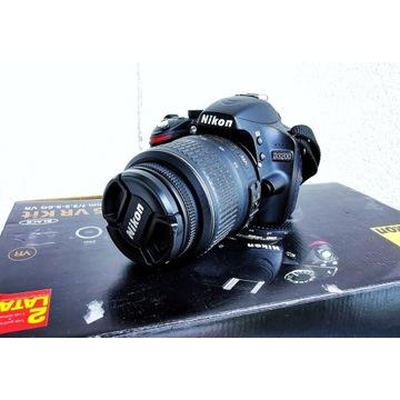 Nikon D3200 + Nikkor 18-55 VR IDEAŁ