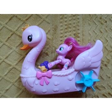 Pinki pai my Little Pony łódka
