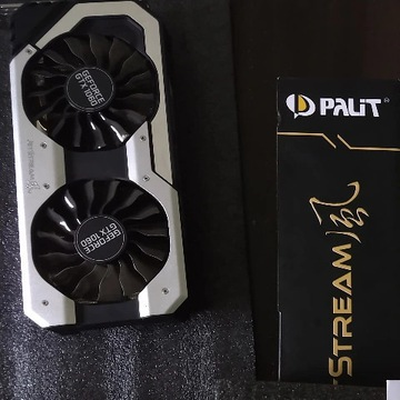 PALIT GTX 1060 Super JetStream 6GB GDDR5 OKAZJA