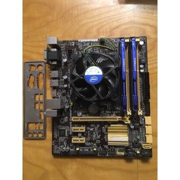 BCM Zestaw i5 4460 + B85M-G 8 GB ddr3 1600 hyperx