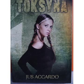 Książka Toksyna  Jus Accardo - ZBIÓRKA
