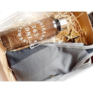 zestaw sportowy top + butelka, box podarunkowy