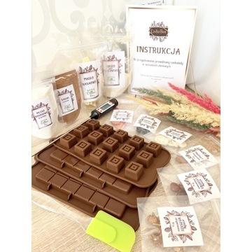 Zestaw do przygotowania zdrowej czekolady prezent
