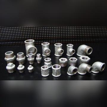 Łączniki instalacji sanitarnej ocynkowane MIX