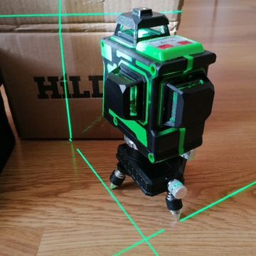 Poziomica laserowa samopoziomująca krzyżowa HILDA