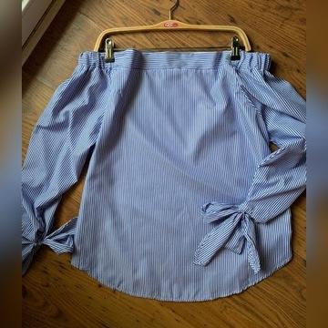 Bluzka hiszpanka z odkrytymi ramionami 42/XL
